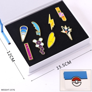 pokemon Badges Set F