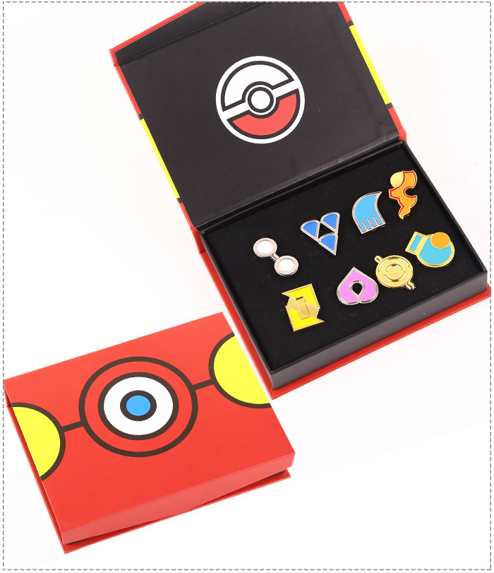 pokemon Badges Set A